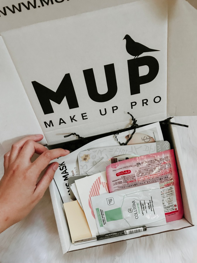 Unboxing MUP's MysteryBox