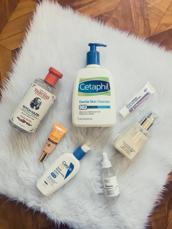 My Affordable Morning Skincare Routine